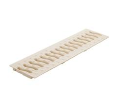 Решетка 100 пластиковая Волна (слоновая кость)
